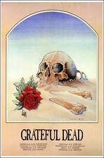GRATEFUL DEAD Europe 1981 Concert Poster