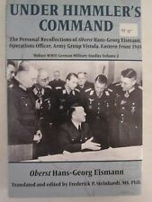 Under Himmler's Command- The Personal Recollections of Oberst Hans-Georg Eismann