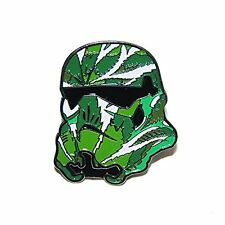 Collectible Stoned Trooper Weed Leaf Enamel Hat Pin