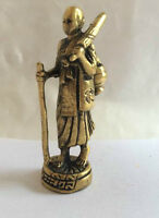 Figuren amulett miniatur e151 - Buddha Einsiedler Asia Messing