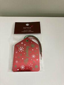 Papyrus Holiday Gift Tags, No Peeking, Set of 5
