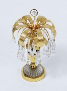 Stunning  Vintage Murano Glass Tear Drop Table Lamp by Palwa, Germany, 1960s
