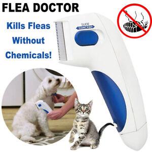 Flea Electric Pet Cat Dog Safe Flea Zapper Comb Kills Fleas Pet Supply UY