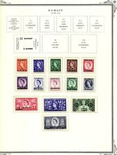 Kuwait 1923 - 86, New Scott's Specialty Album, 32 Br. Issue MNH Stamps, Cat$75+