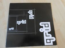 "The Grid ‎  Figure Of Eight    1992 2 12"" Promos DAVE BALL"