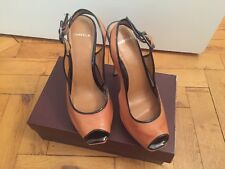 BRAND NEW Designer Tan With Black Trim Carvela Stilettos - UK 7 / EUR 40