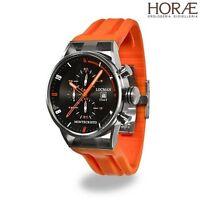 Orologio da Polso Uomo Locman Montecristo 051000BKFOR0GOO crono arancione quarzo