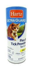 Hartz UltraGuard Flea - Tick Powder for Cats 4 oz (Pack of 2)