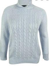 karen scott plus size cable kint sweater 2X