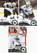 14/15 Upper Deck Series 2 Exclusives Antti Niemi #405 Sharks /100 2014/15