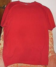 PLAIN RED SHORT SLEEVE OLD NAVY T-SHIRT>NEW>X LARGE>***FREE U.S. SHIPPING***