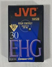 JVC VHS-C EHG 30 Video Tape Library Master - NEW