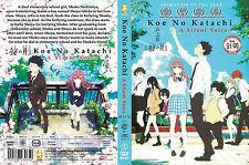 A Silent Voice Koe No Katachi The Movie 聲の形 DVD Anime English Sub ALL Region