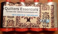 Edyta Sitar's QUILTER'S ESSENTIALS Set of 4 Large Spools 50 Wt Aurifil Thread