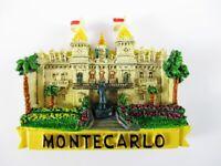 Magnet Monte Carlo Monaco Polyresin,Souvenir Frankreich France,Neu.*