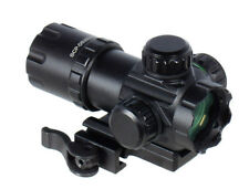 """UTG 3.9"""" 5th Gen ITA Red/Green CQB Dot Rifle Sight with QD Mount (SCP-DS3039W)"""