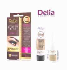 Delia Henna Eyebrow PROFESSIONAL Tint Kit- GEL PROCOLOR DARK BROWN 3.0