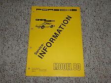 1980 Porsche 911SC 911 SC Factory Service Repair Shop Workshop Manual