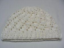 b795b9c81f8 WHITE - HAND KNITTED - XL SIZE STOCKING CAP BEANIE HAT!