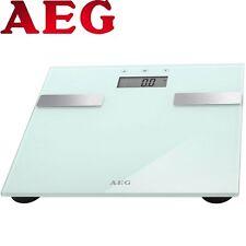 AEG PW 5644 Weiß 7in1 Personenwaage Gewichtswaage Analyse-Waage bis 180kg NEU!