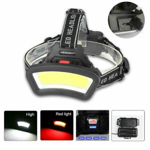 50000LM COB LED Headlight Head Lamp USB Rechargeable Lantern For Outdoor Hiking
