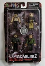 THE EXPENDABLES 2 MINIMATES SET TRU STALLONE CHUCK NORRIS ARNOLD MOSC 2012 RARE