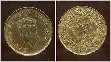 INDE  british colony  one quarter  de anna  1939