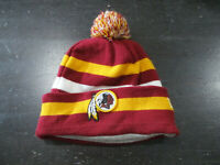 New Era Washington Redskins Beanie Hat Cap Red Yellow Knit Winter NFL Football
