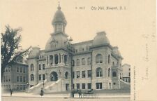 NEWPORT RI – City Hall – udb (pre 1908)