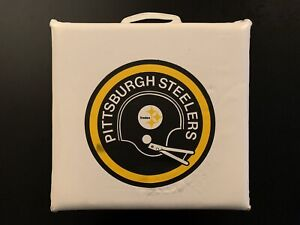 Vintage Pittsburgh Steelers Seat Cushion NFL