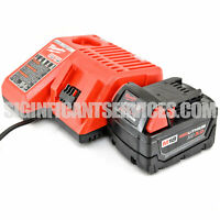 Genuine Milwaukee M18 Red Lithium-Ion XC Battery 48-11-1828 48-59-1812 Charger