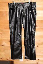 DAANG GOODMAN FAUX LEATHER PANTS Size 40 Mens Style# VM334M TRIPP NYC 40 x 31.5
