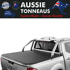 Clip On Soft Cover Tonneau for Nissan Navara NP300 D23 With Factory Sports Bars