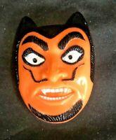 Vintage Halloween Devil Plastic Clicker Noisemaker Fun World