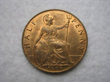 More details for 1906 edward vii halfpenny coin - very high grade with lots lustre