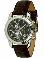 Disney Quarzuhr Chronograph mit Donald Duck Motiv Datum Stoppfunktion