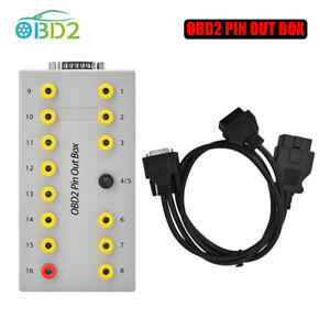 OBD2 Pin Out Box Breakout Tester Auto Diagnostic Pinout Car Protocol Detector