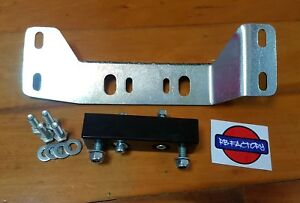 S Chassis with SR20 & RB25 gearbox conversion bracket - Drivers Side High