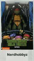 """NECA TMNT Teenage Mutant Ninja Turtles 1990 Movie Raphael 7"""" Figure In Hand New"""