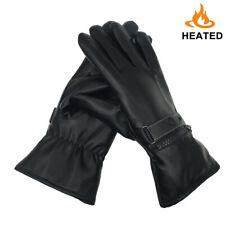 Battery Heated Gloves for Men Women Electric Thermal Gloves Hand Warmer Driving