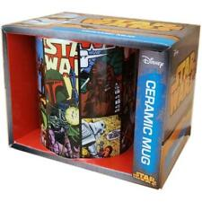 OFFICIAL STAR WARS COMIC STRIP RETRO MUG COFFEE CUP NEW IN GIFT BOX
