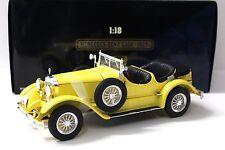 1:18 Ricko Mercedes 630K yellow 1927 NEW bei PREMIUM-MODELCARS