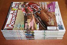 rivista ANNATA COMPLETA MAGAZINE CICLISMO TUTTO MOUNTAIN BIKE MTB 1/12 anno 2009