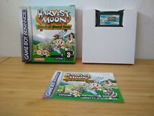 Harvest Moon: Friends of Mineral Town (Nintendo Game Boy Advance, 2003) CIB!!