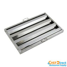 "Box of 6 Hood Filter/Grease Baffle 16""W x 25""H Stainless Steel Commercial Range"