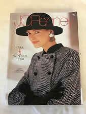 1990 Fall / Winter JC Penney Catolog Fashion Housewares Household Misc - GOOD