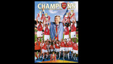 Arsenal FC UNBEATEN CHAMPS English Premier League CHAMPIONS 2004 POSTER