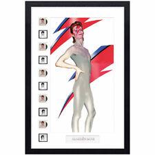More details for david bowie framed royal mail® collectable stamp - aladdin sane anniversary fram