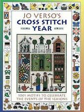 """AS NEW"" Jo Verso's Cross Stitch Year, Verso, Jo, Book"