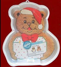 Wilton ***SANTA BEAR *** Cake Pan w/INSERT!!